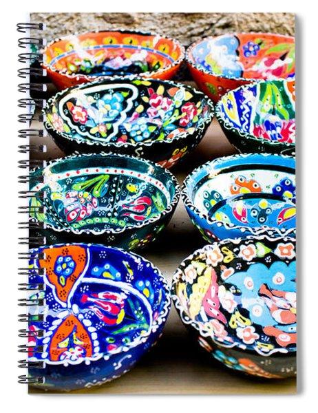 Turkish Bowls Spiral Notebook