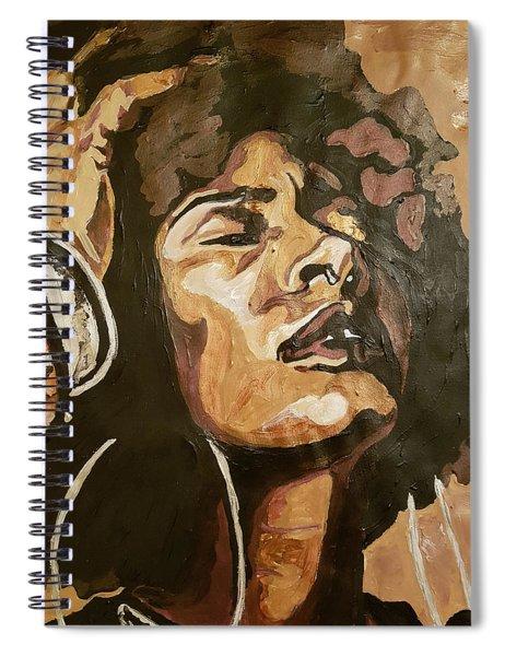 Turn Up The Quiet Spiral Notebook