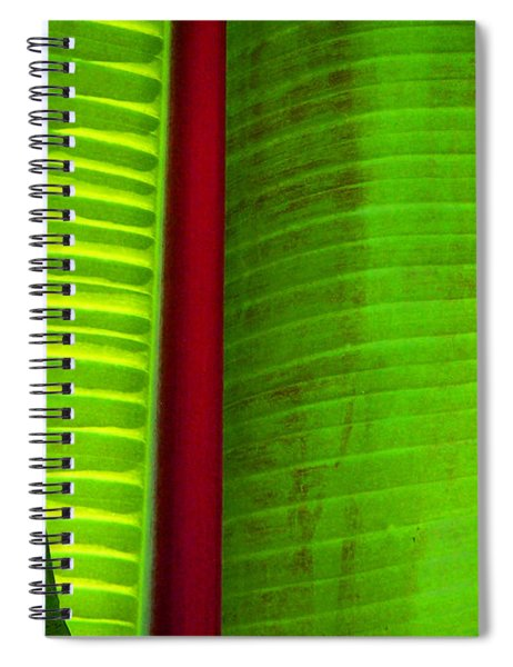 Turning A New Leaf Spiral Notebook