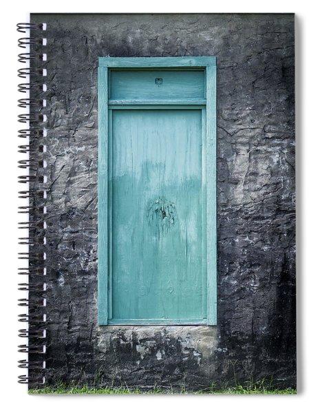 Turquoise Door Spiral Notebook