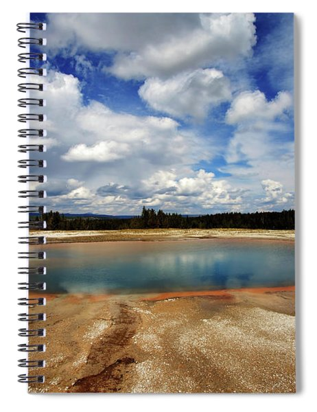Turquoise Pool Spiral Notebook