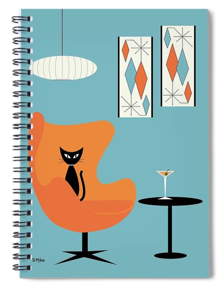 Turquoise Room Spiral Notebook