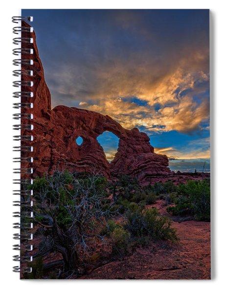 Turret Arch Spiral Notebook