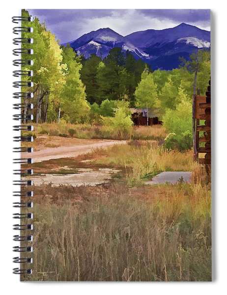 Turrett - Colorado Ghost Town Spiral Notebook