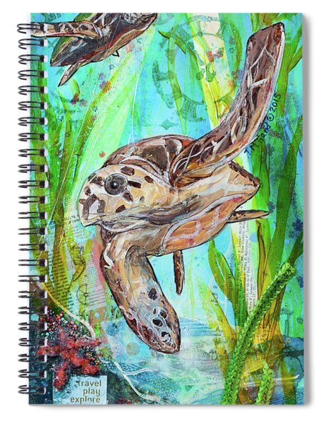 Turtle Cove Spiral Notebook