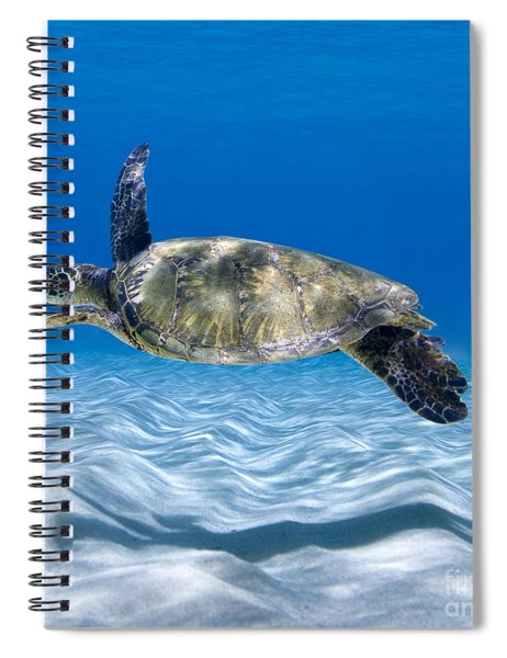Turtle Flight -  Part 2 Of 3  Spiral Notebook