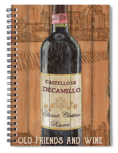 Tuscan Chianti 1 Spiral Notebook
