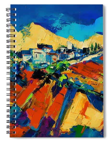 Tuscan Light Spiral Notebook