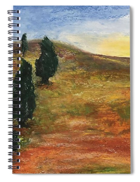 Tuscan Lights Spiral Notebook