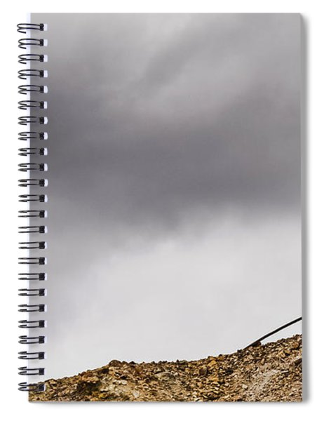 Twice Bent Spiral Notebook