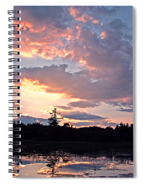 Twilight Glory Spiral Notebook