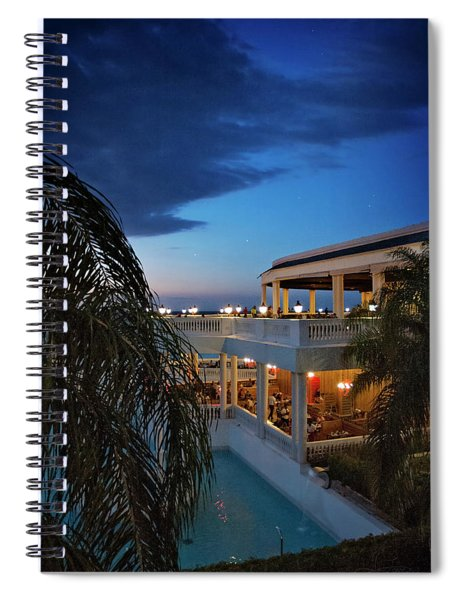 Twilight In The Tropics Spiral Notebook