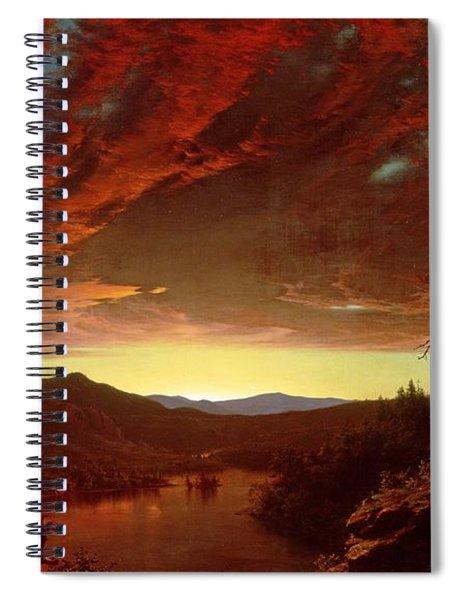 Twilight In The Wilderness Spiral Notebook