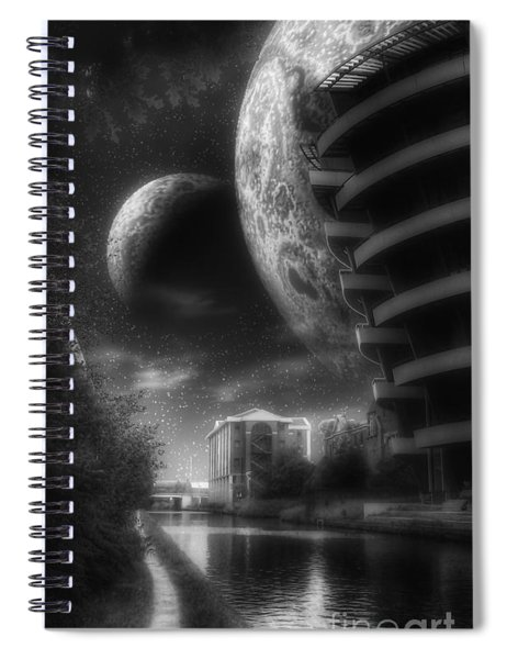 Twilight Spiral Notebook