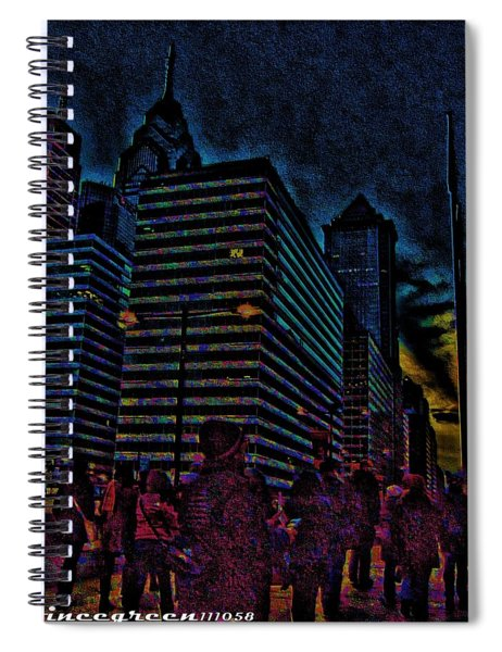 Twilight Of Uncertainty Spiral Notebook