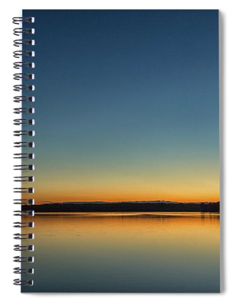 Spiral Notebook featuring the photograph Twilight by Rod Best