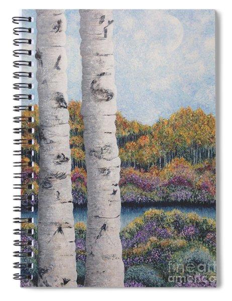 Twin Aspens Spiral Notebook
