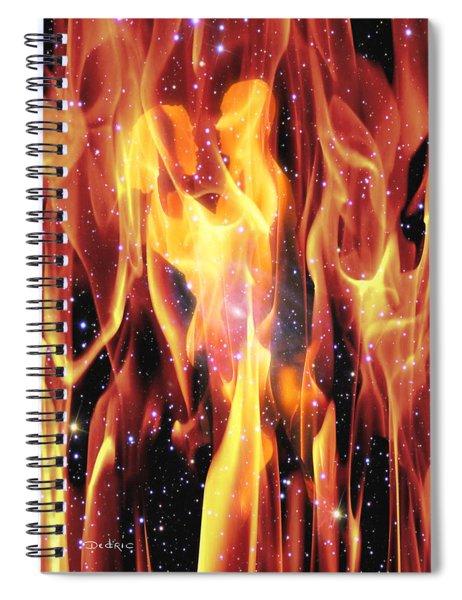 Twin Flames Spiral Notebook