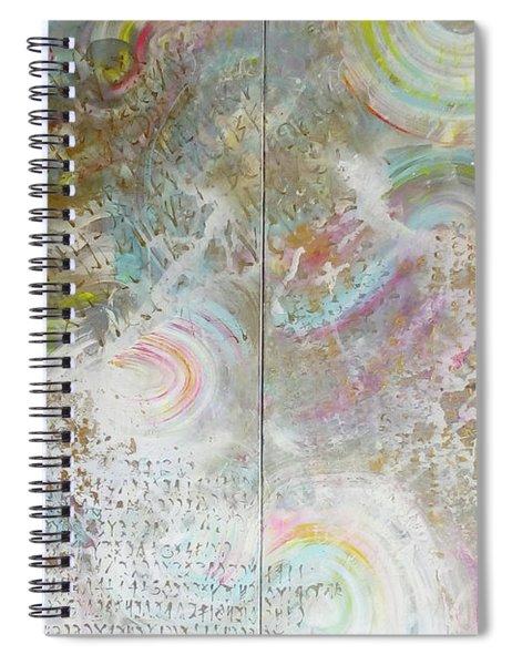 Twin Spica Spiral Notebook