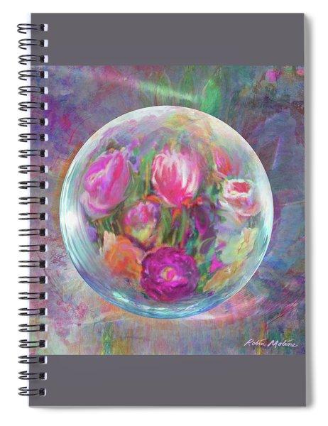 Tulip Twirl  Spiral Notebook