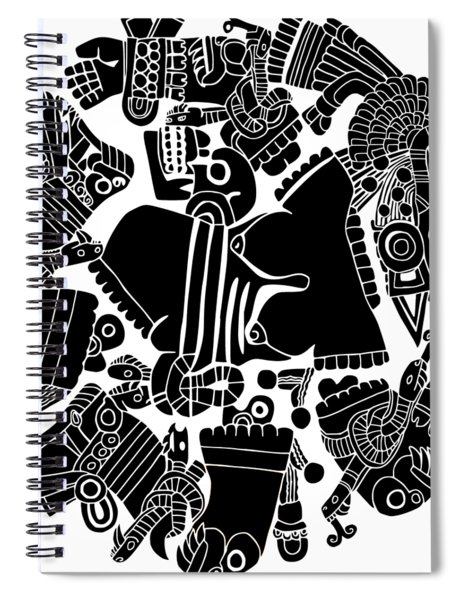 Twisted Day Spiral Notebook