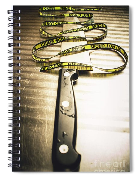Twists And Turns Of A Serial Killer Spiral Notebook