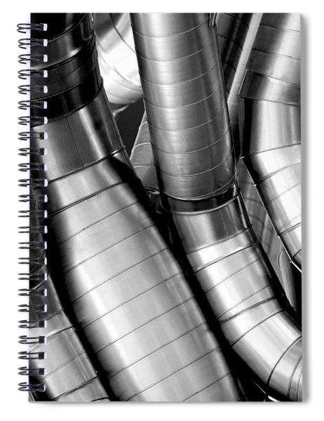 Twisty Tubes Spiral Notebook