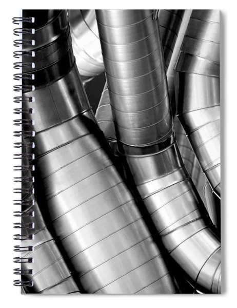 Twisty Tubes Spiral Notebook