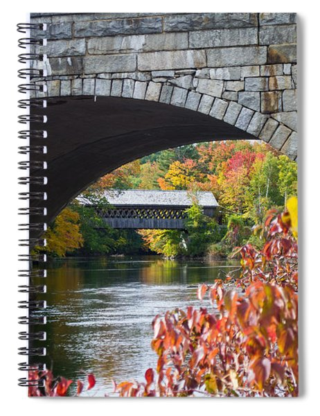 Two Bridges Spiral Notebook