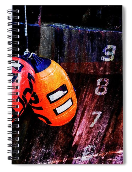 Two Buoys Left Of Depth Spiral Notebook