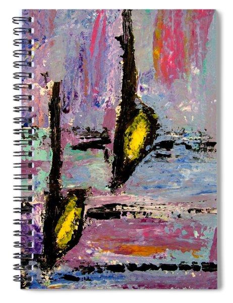 Two Flats Spiral Notebook