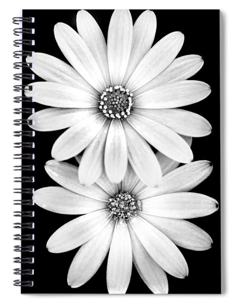 Two Flowers Spiral Notebook