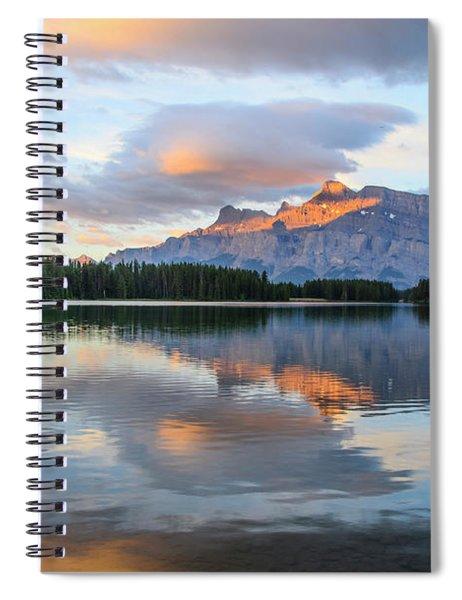 Two Jack Lake, Banff National Park Spiral Notebook