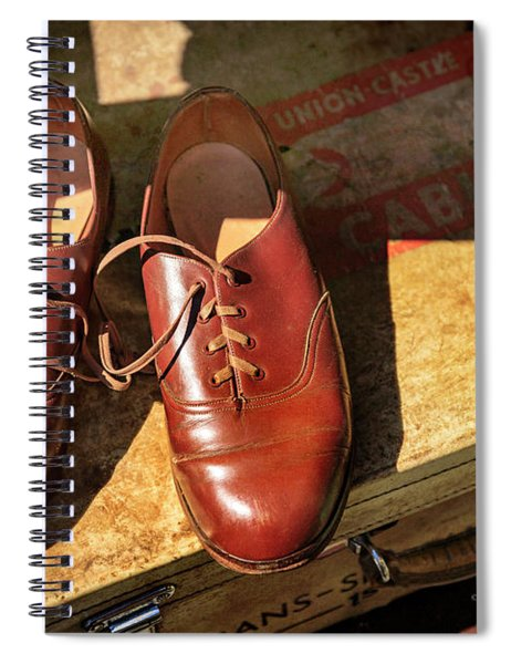 Two Old Shoes Spiral Notebook