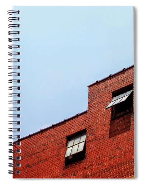 Two Open Windows- Nashville Photography By Linda Woods Spiral Notebook