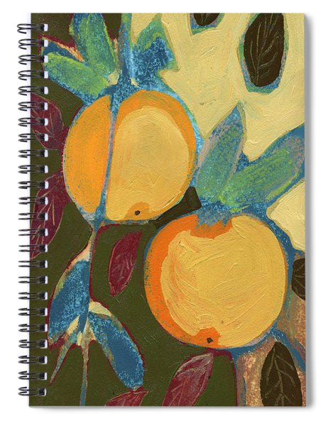 Two Oranges Spiral Notebook