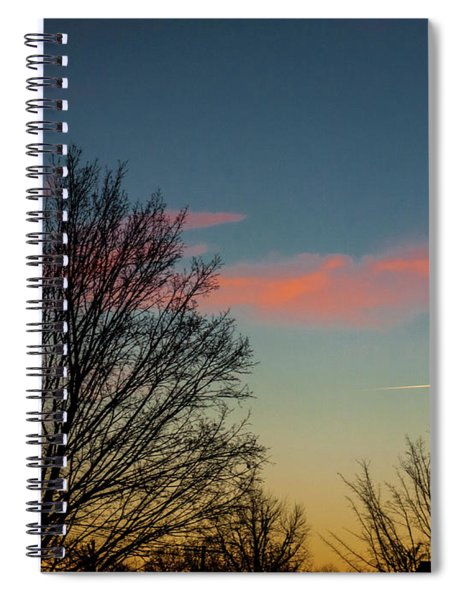 Two Planes Spiral Notebook