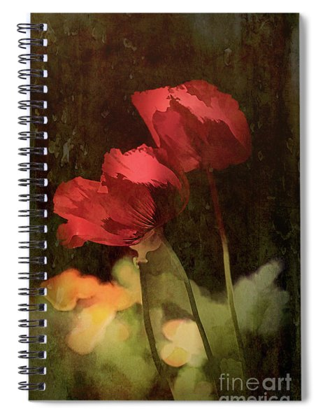 Two Poppies Spiral Notebook