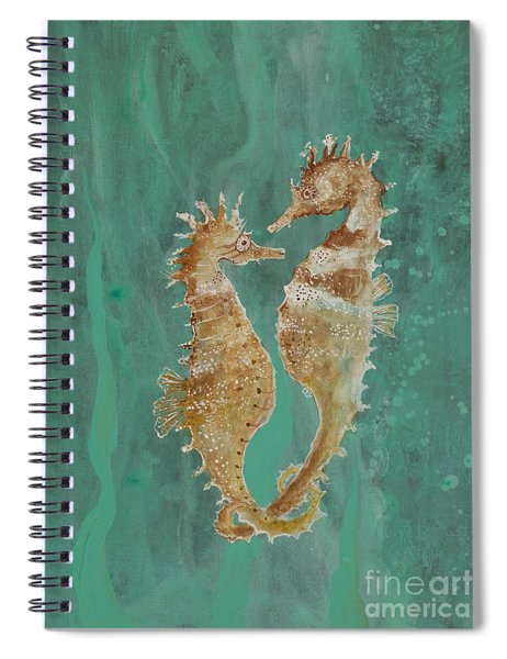 Two Seahorse Lovers Spiral Notebook
