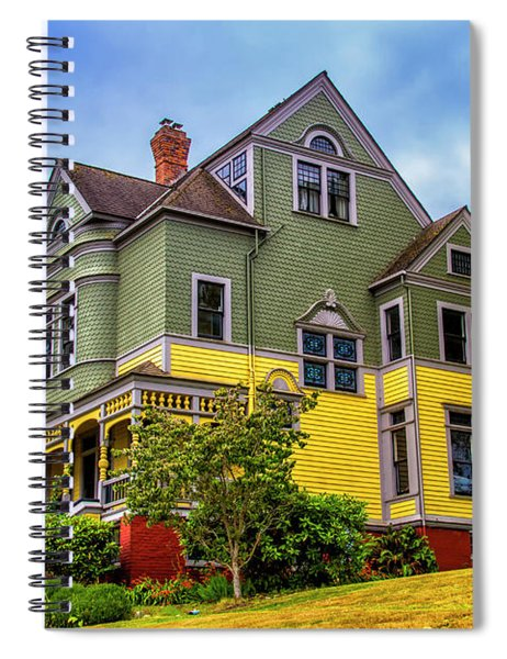 Two Toned House Spiral Notebook