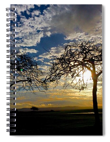 Two Trees Spiral Notebook