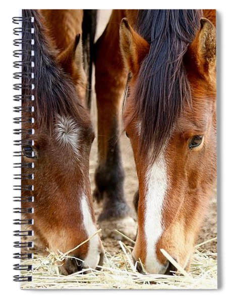 Two Young Friends Spiral Notebook