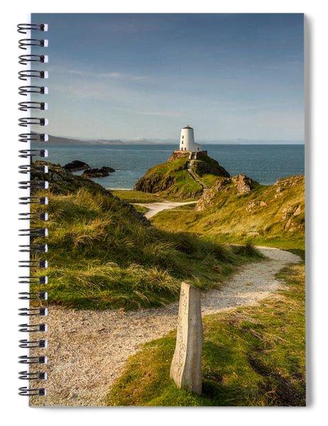Twr Mawr Lighthouse Spiral Notebook