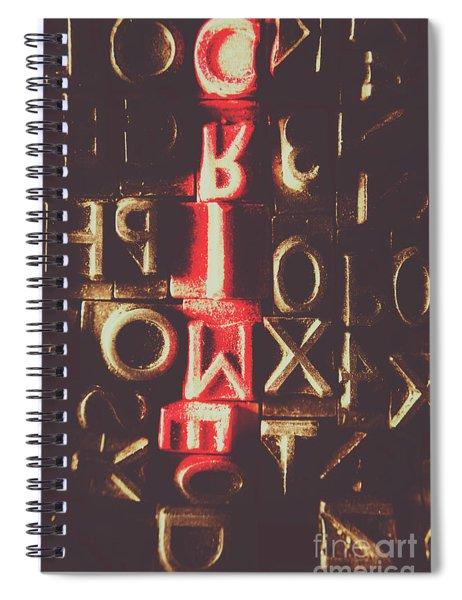 Type Of Criminal Evidence Spiral Notebook