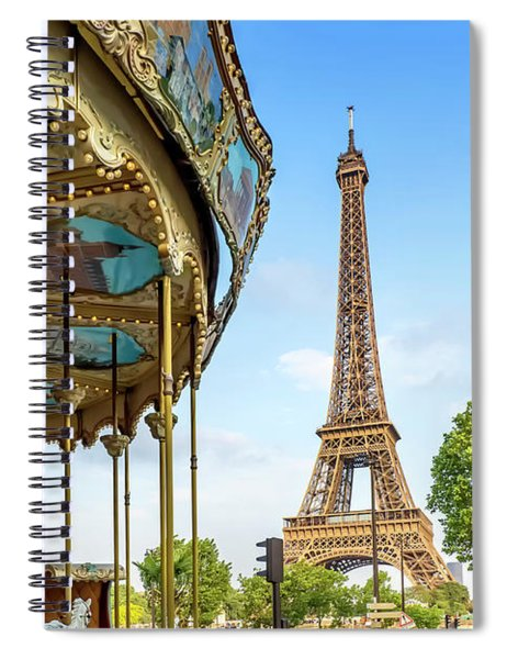 Typical Paris  Spiral Notebook by Melanie Viola