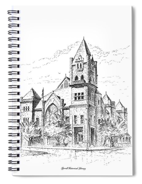 Tyrrell Historical Library Spiral Notebook
