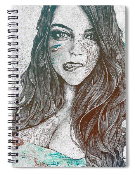 U-turn - Rainbow Spiral Notebook