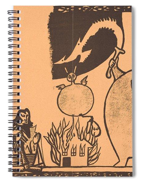 Ubu Roi Spiral Notebook