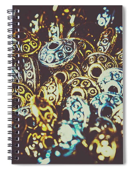 Ufo Flying Saucers Spiral Notebook