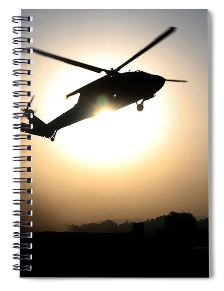 Uh-60 Black Hawk Helicopters Spiral Notebook